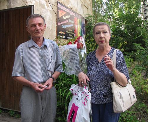 Антонина Кузнецова в Александрове