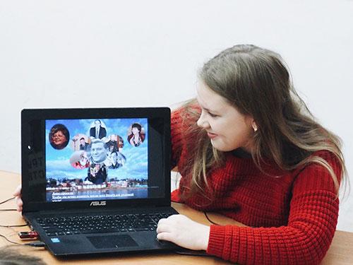 Анна Белокопытова представляет свой проект